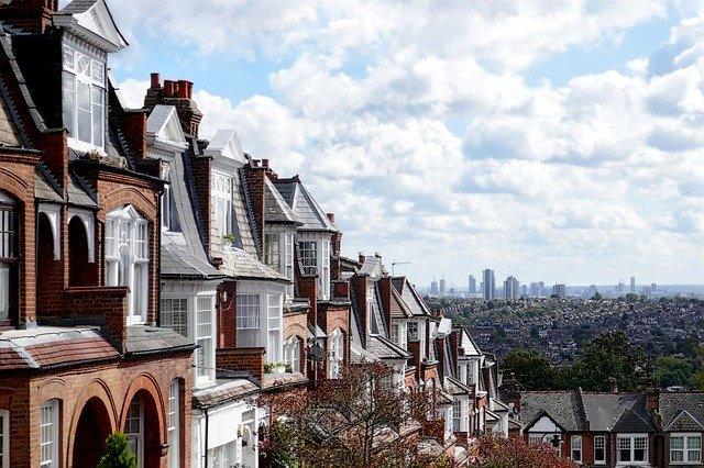 suburban london houses